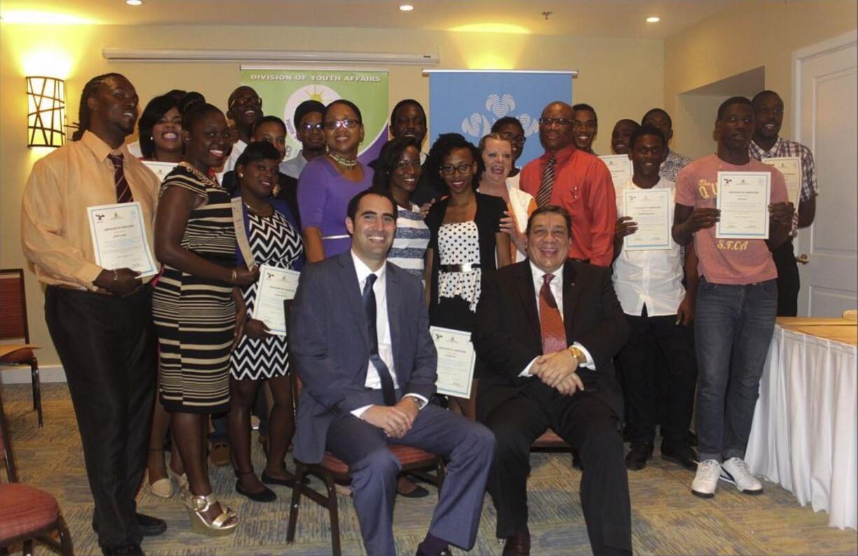 Group photo of Get into Logistics graduates