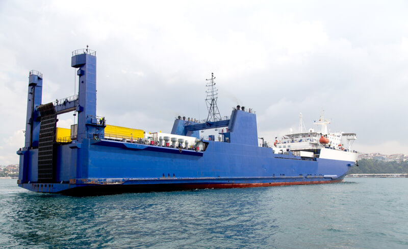 Photo of a shipping liner