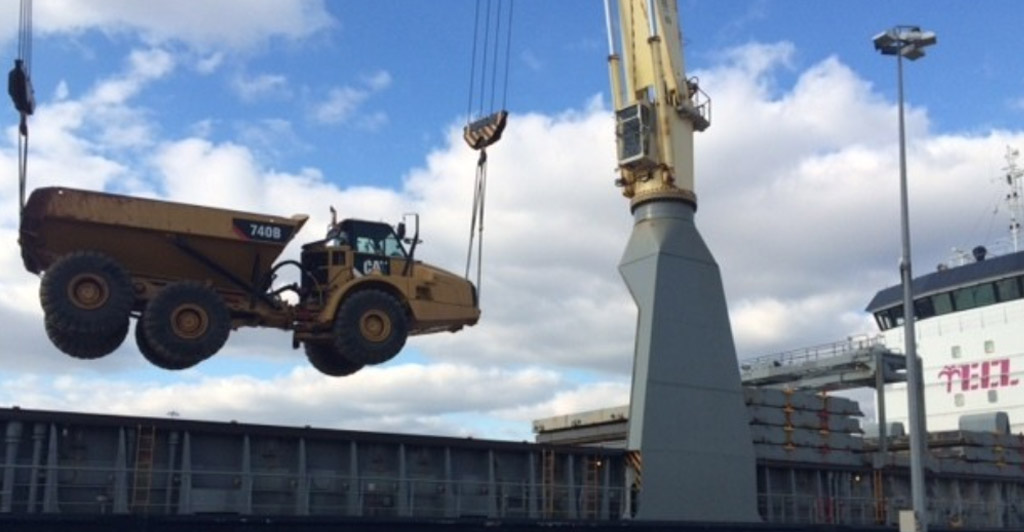 Baltic & European Shipping Expertly Move Heavy Vehicles to Georgetown