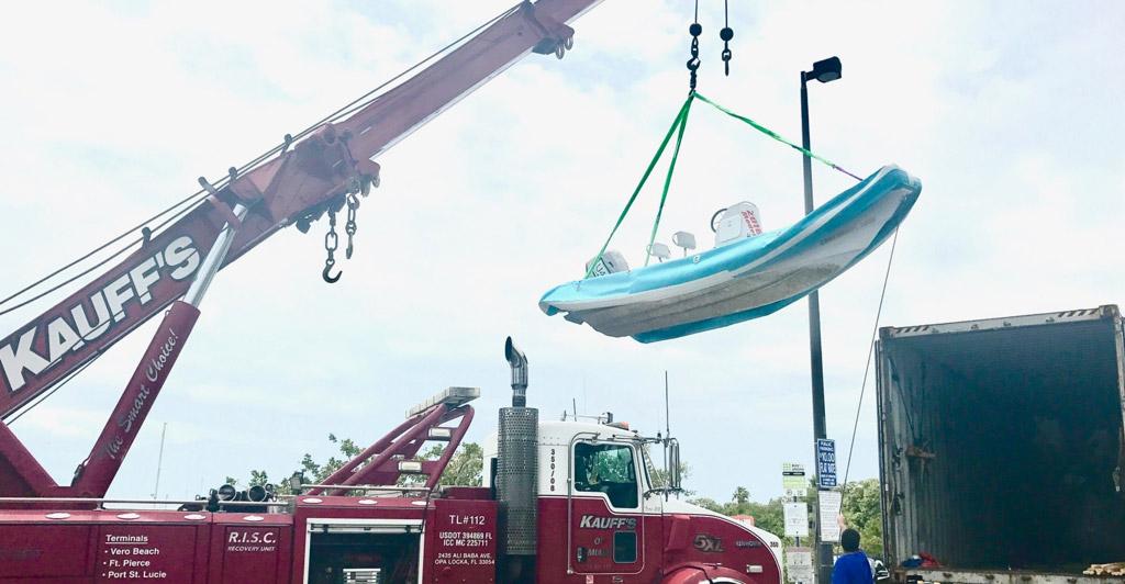 Kestrel On The Move Again For CoachBoat