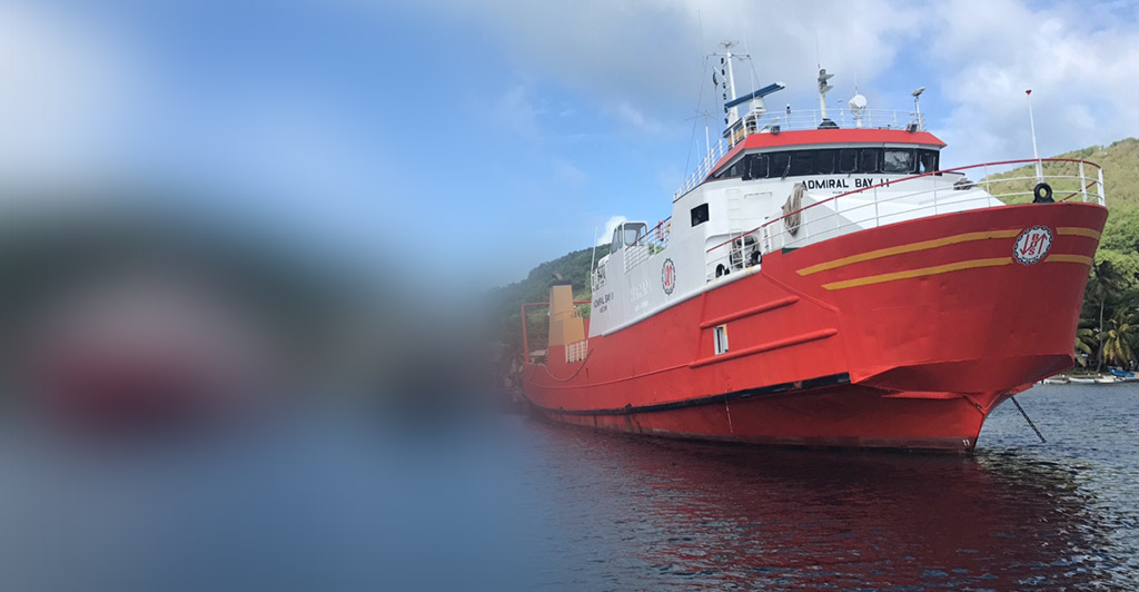 Kestrel Liner Agencies are continuing to charter ships carrying relief cargo to the Caribbean.