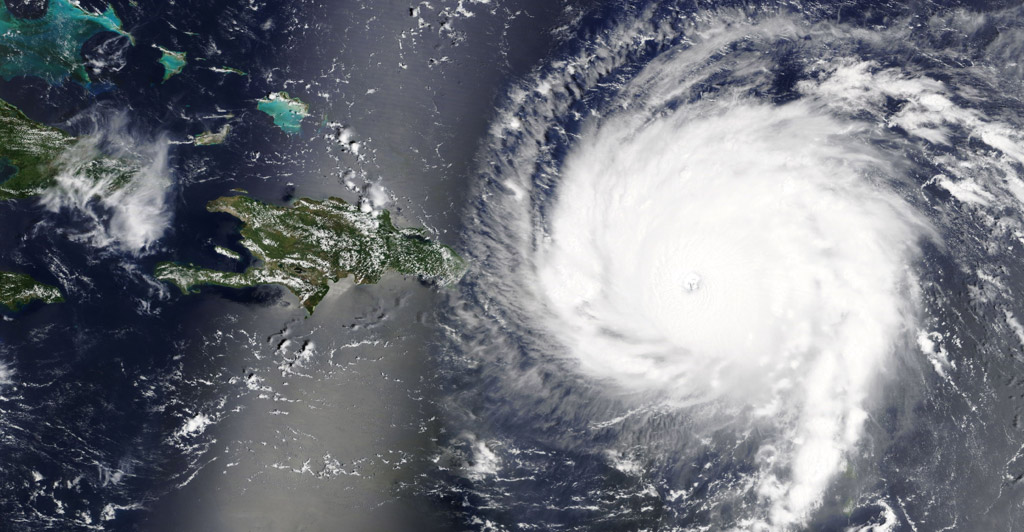 Hurricane Irma has now been categorised as a powerful CATEGORY FIVE storm by the US National Hurricane Center.