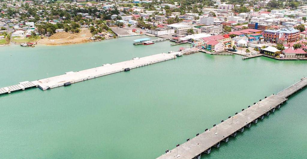 Antigua Cruise Ship Pier Almost Complete