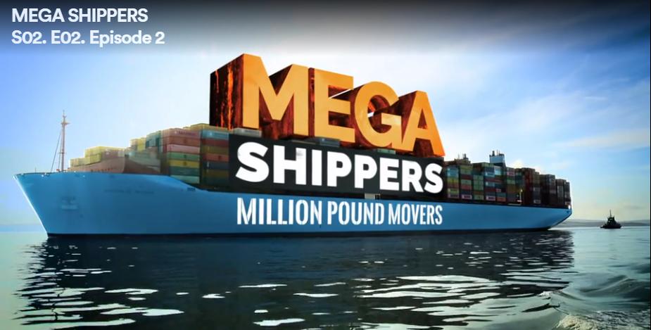 Kestrel star in Mega Shippers TV Show