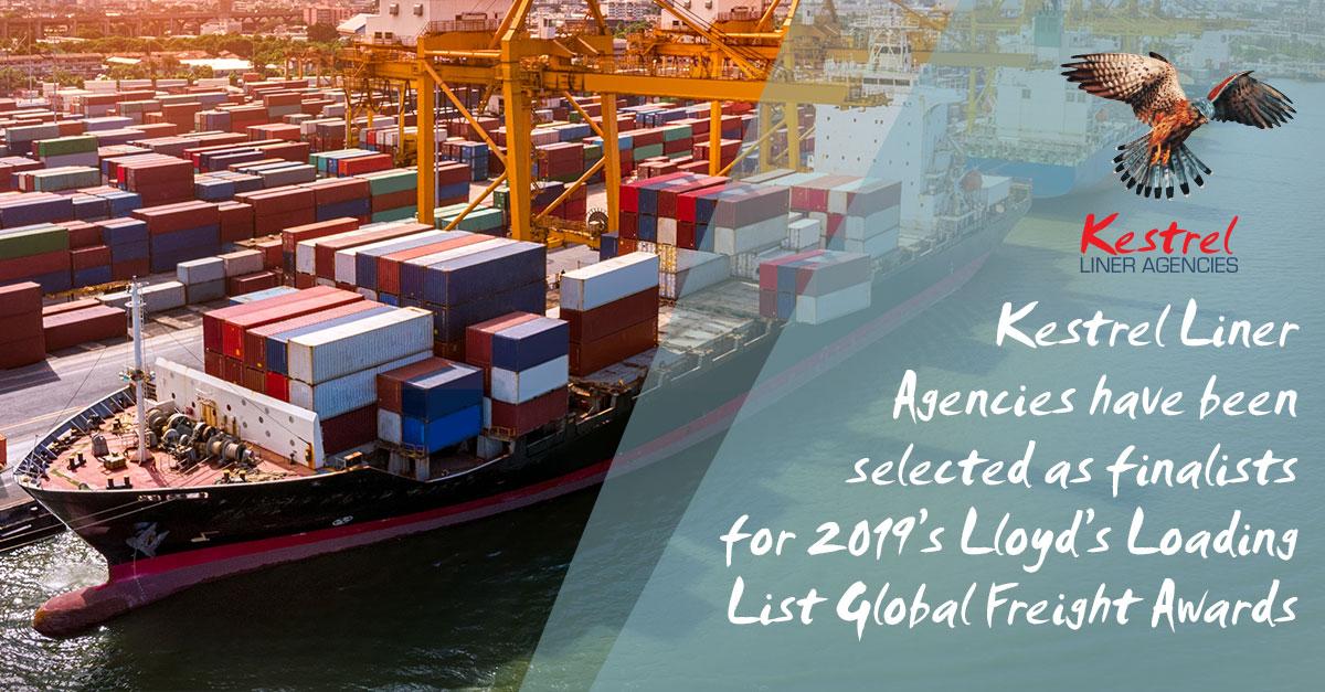 Lloyd's Loading List Global Freight Awards 2019 / Kestrel Liner Agencies
