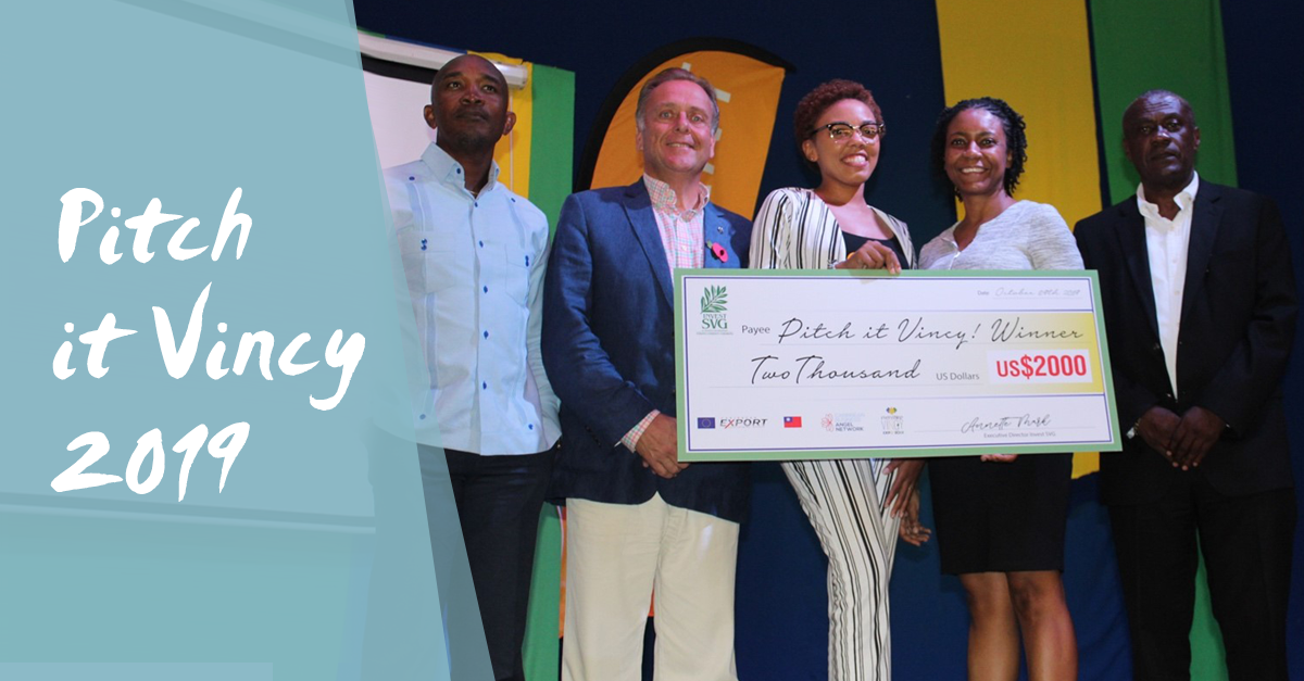 Pitch It Vincy 2019: Andy Thorne AKA Angel Investor
