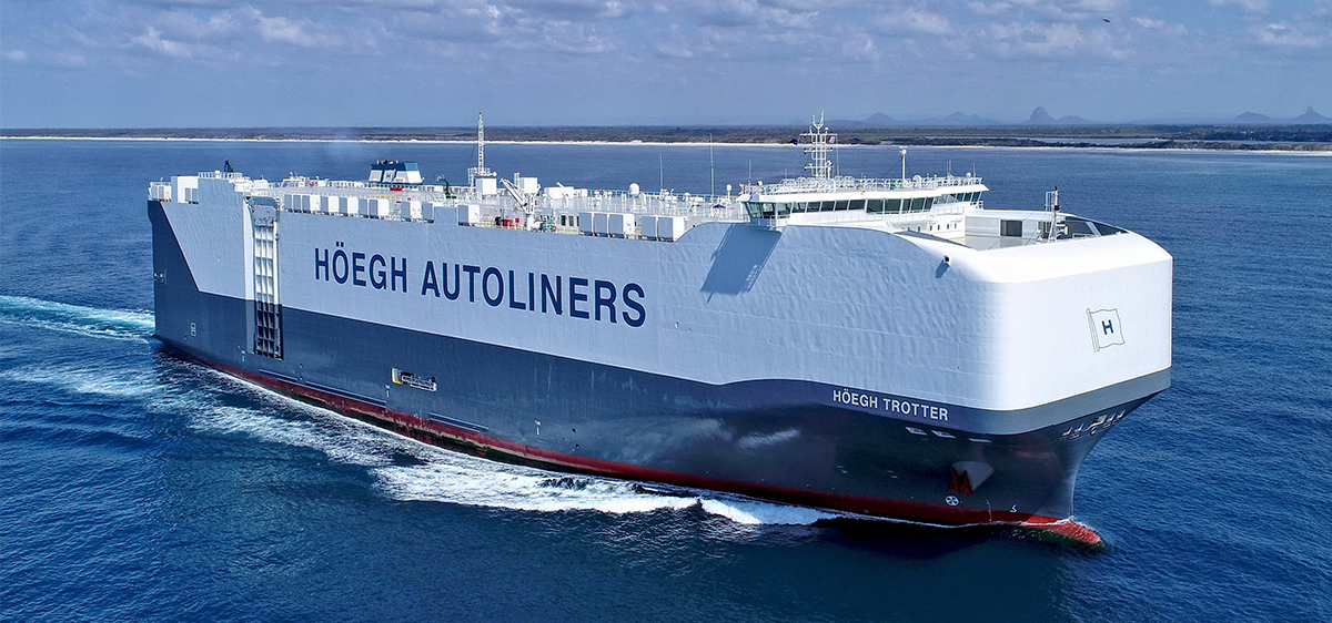 Kestrel Appointed as Agent for Hoegh Autoliners